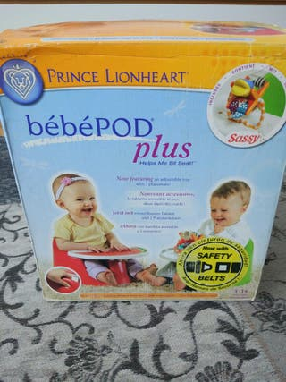 Asiento bebepod plus (Prince lionheart , bumbo )