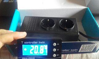 Aquamedic twin - controlador de temperatura
