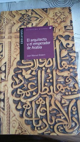 """libro """"El arquitecto y el emperador de Arabia"""""""