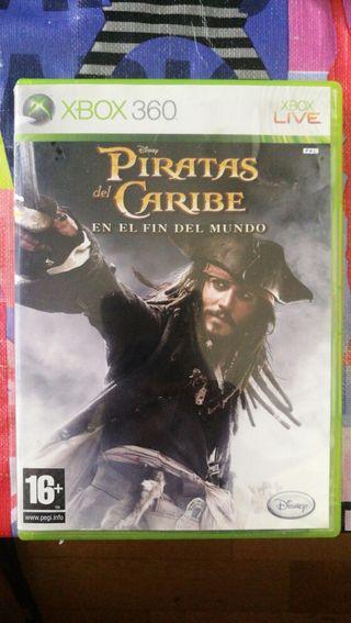 xbox 360, Piratas del Caribe