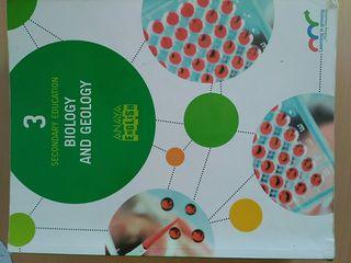 Libro Biologia y Geologia Bilingue 3 ESO