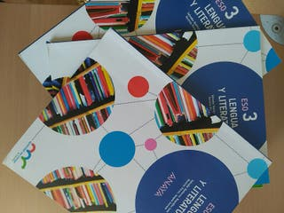 Libro Lengua y Literatura 3 ESO