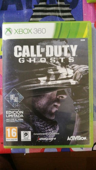 xbox 360, call of duty gosts