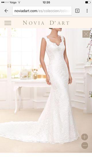 Vestido de novia novia d'art