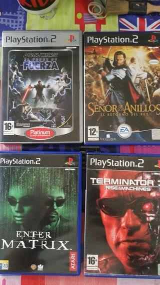 PS2 juegos