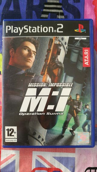 juego mision imposible PS2