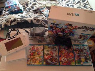 Wii U + manette pro + jeux + Wii