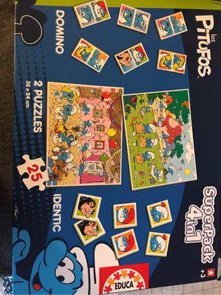 Puzzles Pitufos