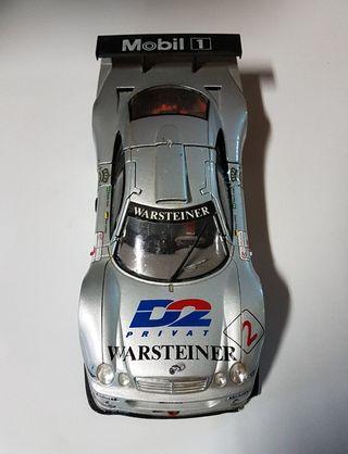 Maqueta Coche Mercedes-Benz CLK-GTR 1/18