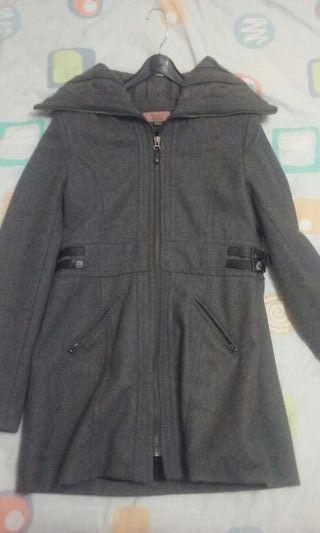 abrigo / chaqueton de paño bershka