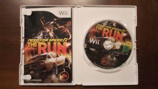 Need for Speed: The Run para Wii perfecto estado