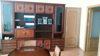 Mueble comedor, mesa y sillas