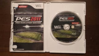 PES 2011 para Wii en perfecto estado