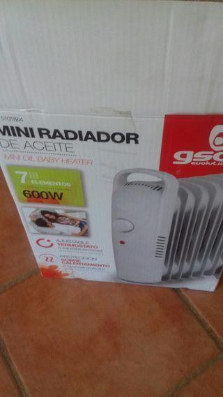 mini radiador de aceite