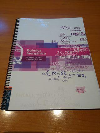 Libro escolar Química Inorgánica
