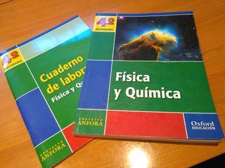Libro escolar 4ESO Física y Química