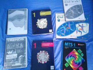 Libros de 1°BACH (CCSS)