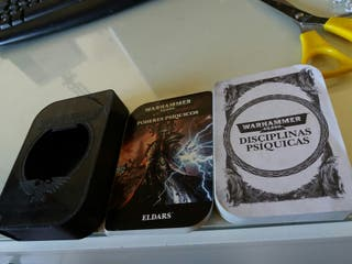 Warhammer 40k 40000 Cartas Poderes Psíquicos