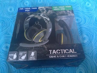 Tactical game & chat headset