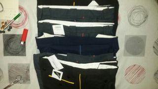 Lote 7 Pantalones Trabajo de Servicios Nuevos