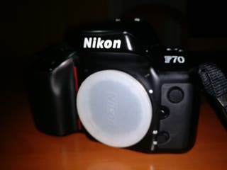 nikon f70 + Nikon 28-80 + Cosina 70-300