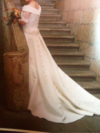 vestido de novia de segunda mano en donostia-san sebastián en wallapop