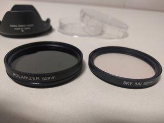 Filtro polarizador 52mm