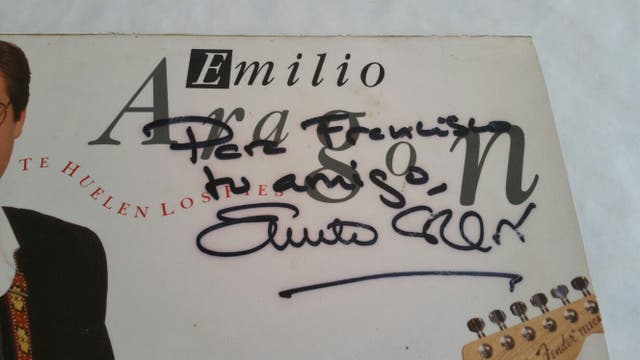 firma Emilio Aragon