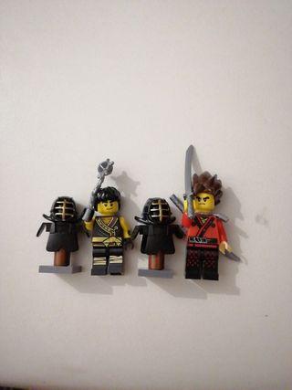 Ninjago y armadura. Ninjago