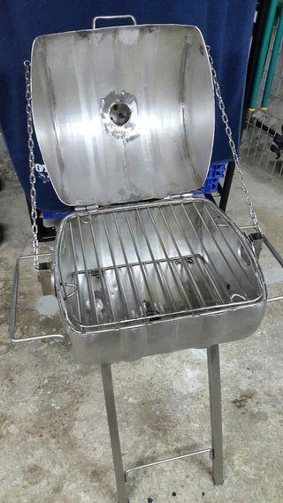 barbacoa de acero inox