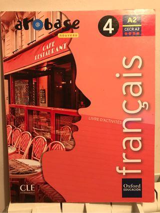 Libro cuaderillo de Français ESO 4°