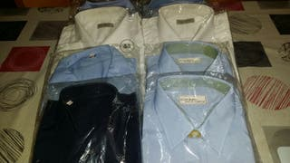 Lote 10 Camisas de Trabajo en Servicios Nuevas