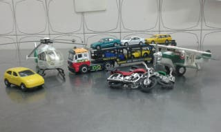 aviones y coches