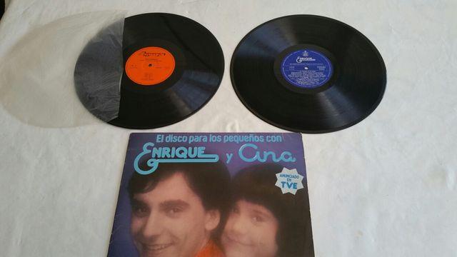 Disco Enrique y Ana