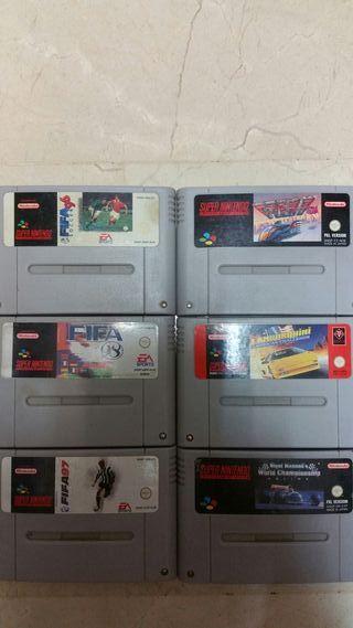 Juegos Super Nintendo SNES
