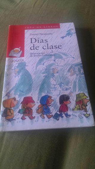 libro Anaya días de clase