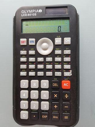 Calculadora Olympia LCD-8510S perfecta