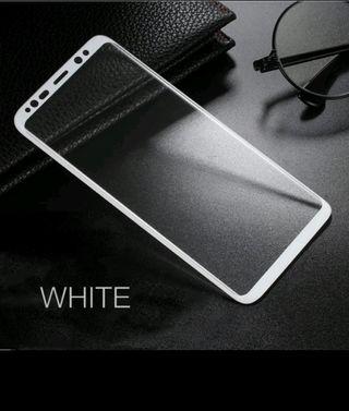 Cristal Templado Galaxy S8 PLUS (BLANCO)