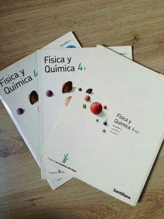 libros de texto, Física y Química (4°)