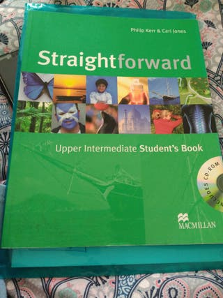Upper intermediate English book