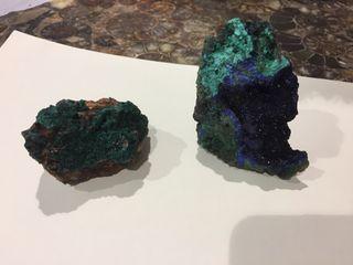 Malaquita y azulita