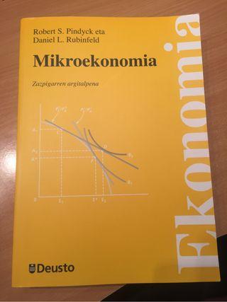 Mikroekonomia liburua deusto