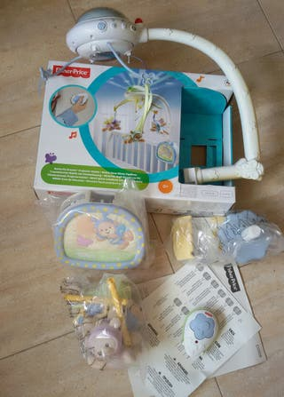 Móvil ositos Fisher Price