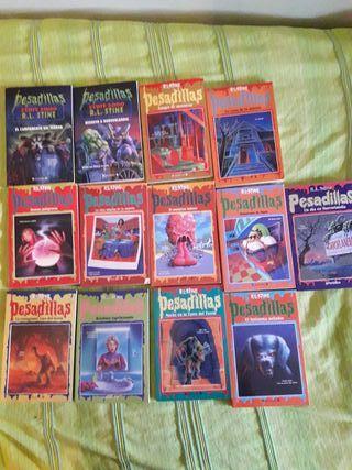 libros de pesadillas