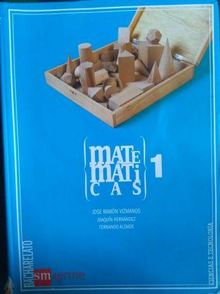 libro matematicas 1 bachiller