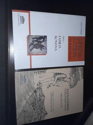 libros de griego y latin