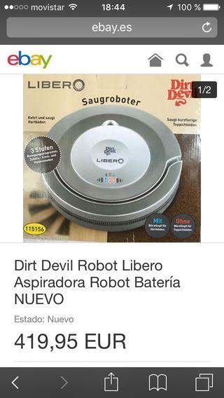 Robot limpiador libero