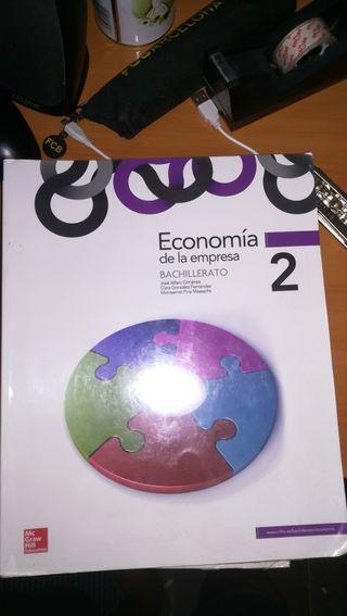 Libro Economia de la empresa,2°bachiller