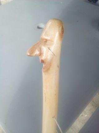 bastón artesanal