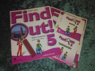 Libros inglés Find Out 5° Primaria Macmillan